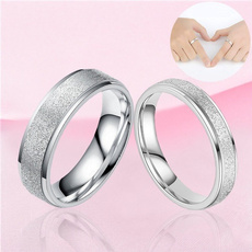 Couple Rings, Steel, wedding ring, Stainless