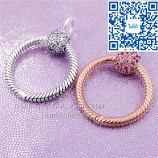 Sterling, pandoradangle, Pandora Beads, gold