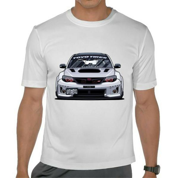 subaru, Shirt, T Shirts