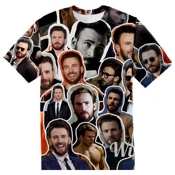 Mens T Shirt, Plus Size, Graphic T-Shirt, Shirt