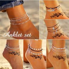 Summer, Fashion, ankletsforwomen, Jewelry