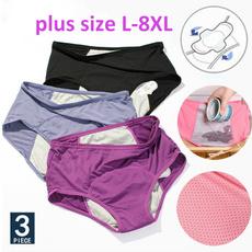 Underwear, Plus Size, leakproofunderwear, pants