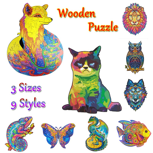 Gifts, Wooden, Jigsaw Puzzle, Puzzle