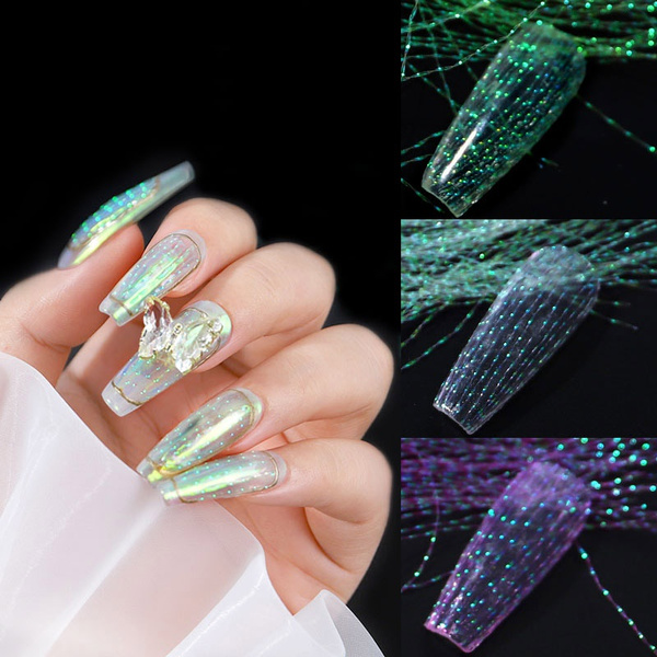 manicure tool, nail decoration, nail decals, Holographic