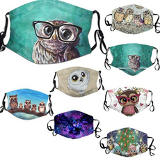 Owl, Gifts, cute, breathablemask