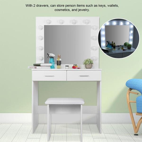 Makeup, vanitytable, Beauty, Desk