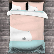 1quiltand2pillow, softlightweightcotton3piecebed, cotton3piecebedsheet, Bedding