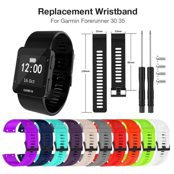 garminwatchband, forerunner35siliconestrap, Silicone, Bracelet