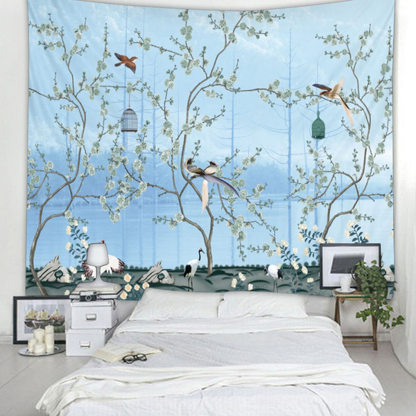 eucalyptusgarland, Home Decor, bohemianwalltapestrie, hippiewallhanging