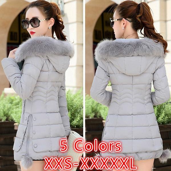 padded, hooded, Winter, winter coat