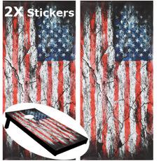margarettown, beanbagtossboard, cornholeboardsticker, Stickers