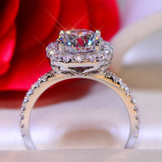 White Gold, wedding ring, gold, Simple