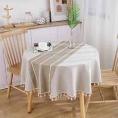 art, cottonlinentablecloth, roundtablecloth, homefurnishingdecoration