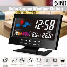weatherstationclock, humidityclock, thermometerclock, snoozeclock