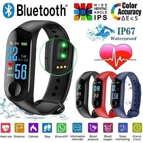 Heart, Monitors, Waterproof, Watch