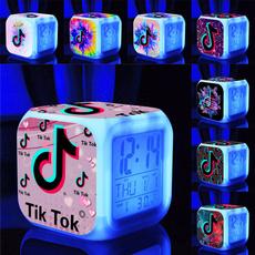 tiktokledclock, led, tiktokluminousclock, Clock