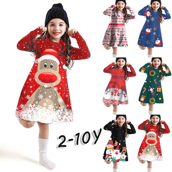 cute, kids clothes, Christmas, Sleeve