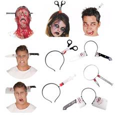 scary, Beauty, headwear, Weapons