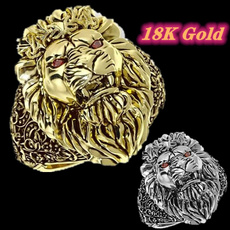 lionring, Sterling, Fashion Accessory, hip hop jewelry