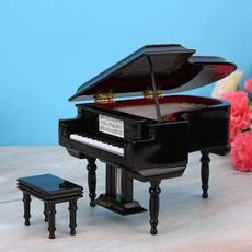 forhomeofficedecoration, miniaturegrandpianomodelkit, Musical Instruments, Office