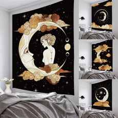 Picnic, Star, tapestryhippie, Home & Living
