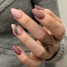 nail decoration, ballerina, Head, nail tips