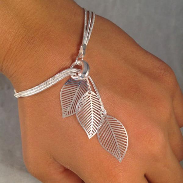 Charm Bracelet, Tassels, Fashion, leaf