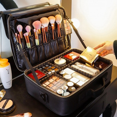 case, toiletrybagforwomen, professionalcosmeticbag, Beauty
