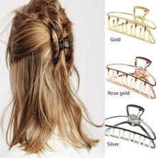 barrettesforwomen, hairclaw, Metal, Women's Fashion