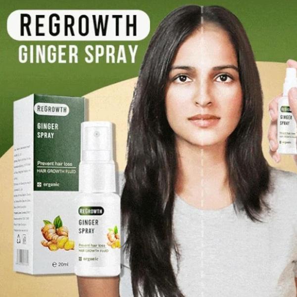 regrowth, essence, ginger, hair