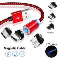 Nylon, led, usb, Cable