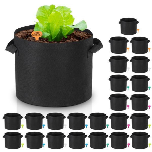 Plants, outdooraerationplantpot, hydroponicplantgrowing, gardenhomepatiorootpouch