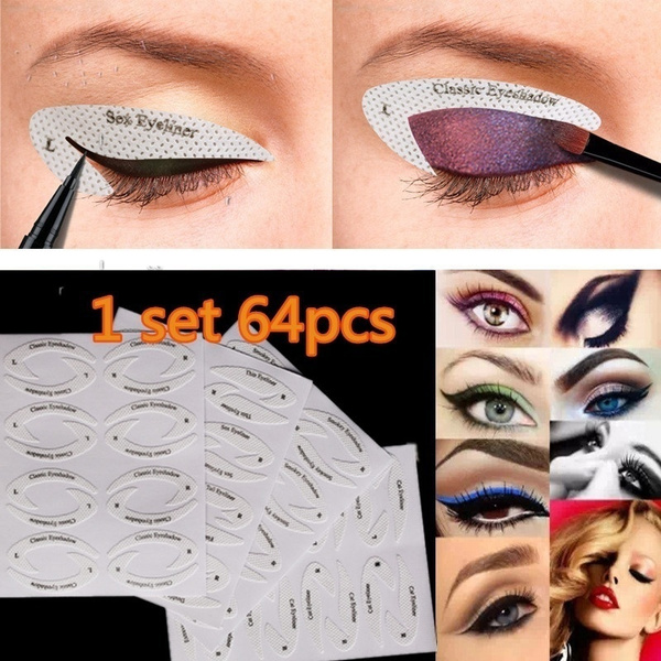 Makeup Tools, Eye Shadow, stencil, Beauty