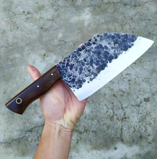 Steel, leather, Handmade, Knives