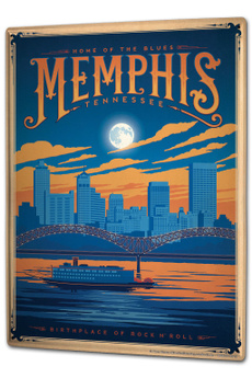 metropoli, cardecor, vintageposter, Metal