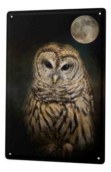 Owl, tinsign, kitchendecor, vintagehomedecor