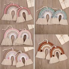 roomhanging, rainbow, Decor, Weaving