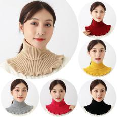 knittedfalsecollar, Scarves, Fashion, womenscarve