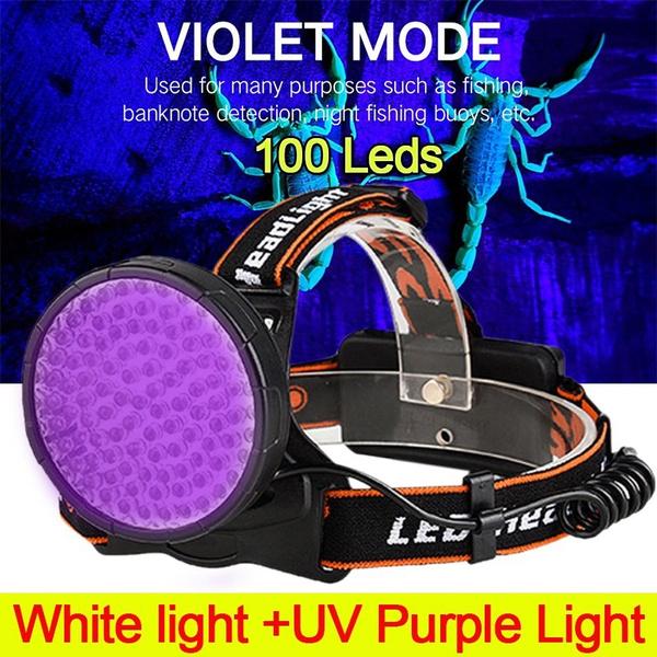 Flashlight, purple, Head Light, led