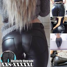 womenstrouser, Leather pants, womenleathertight, peach
