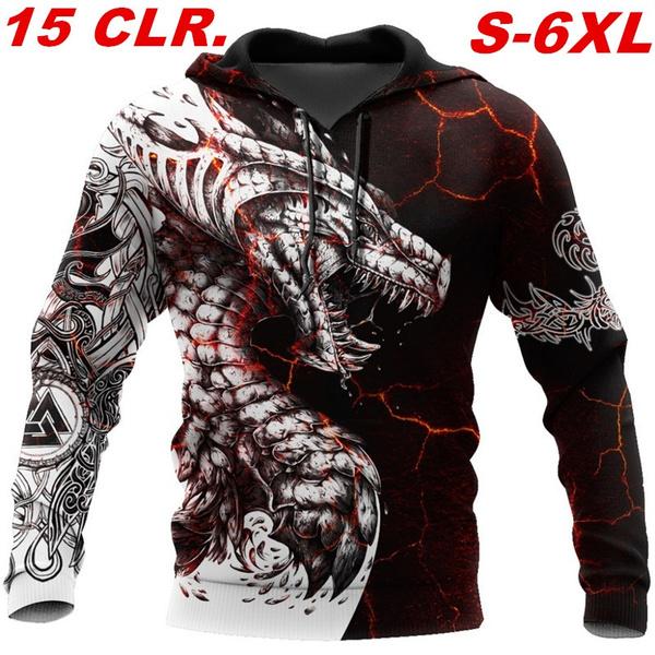 tattoo, dragonprintsweatshirt, art, Animal