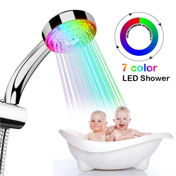 rainbow, Bathroom, Bathroom Accessories, led