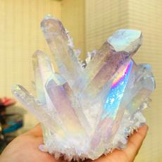 Beautiful, rainbow, crystalcluster, aura