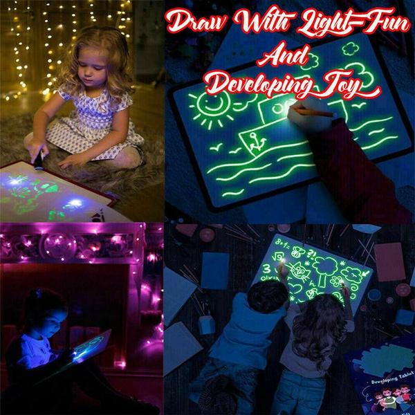 luminouspainting, writingboardkid, Magic, Gifts