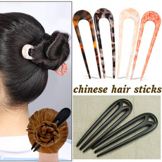 hair, Combs, Chinese, Wooden