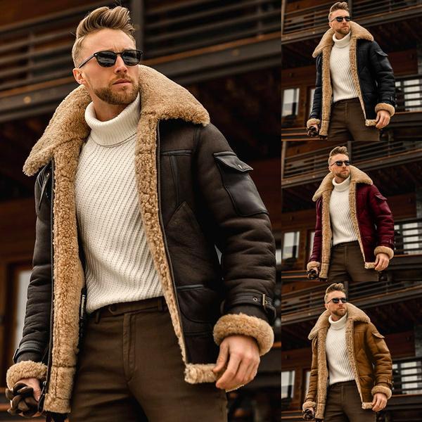 fur coat, Plus Size, Winter, padded