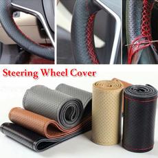 steeringwheelskin, leathersteeringwheelcover, leather, Cars