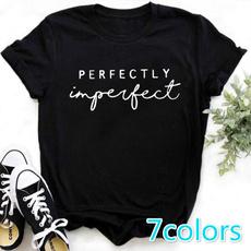 Funny, letterprintshirt, Shirt, tshirtforgirl