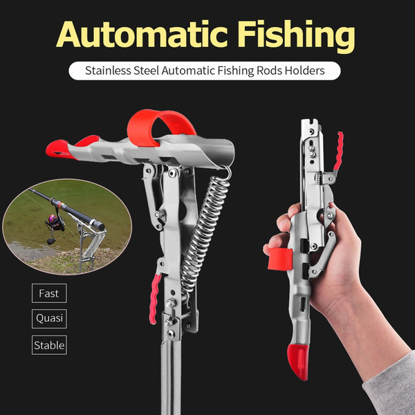 Steel, fishingrodholder, fishingrod, fishingaccessorie