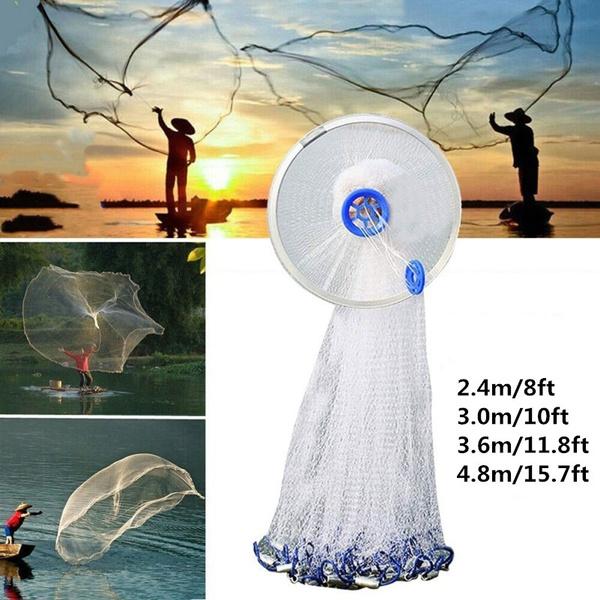 fishingnetcast, foldablebaitcast, fish, portablefishinglandingnet